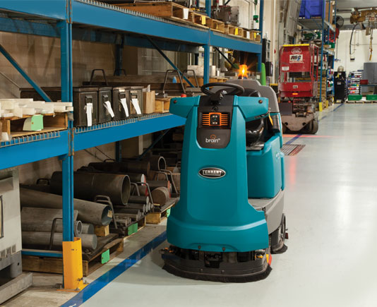 Can Robotic Cleaning Machines Work In Industrial Settings