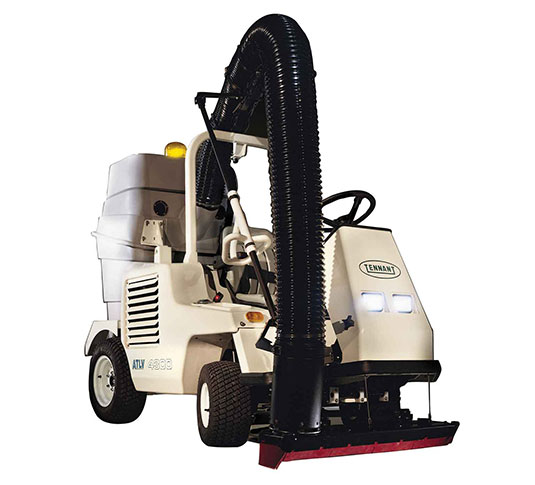 ATLV 4300 All-Terrain Ride-On Vacuum Sweeper alt 1