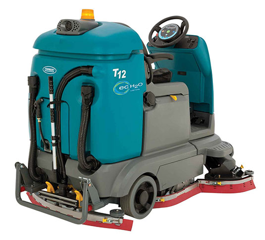 T12 Compact Battery Ride-On Floor Scrubber alt 3