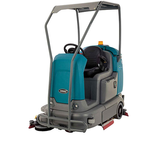 T12 Compact Battery Ride-On Floor Scrubber alt 16