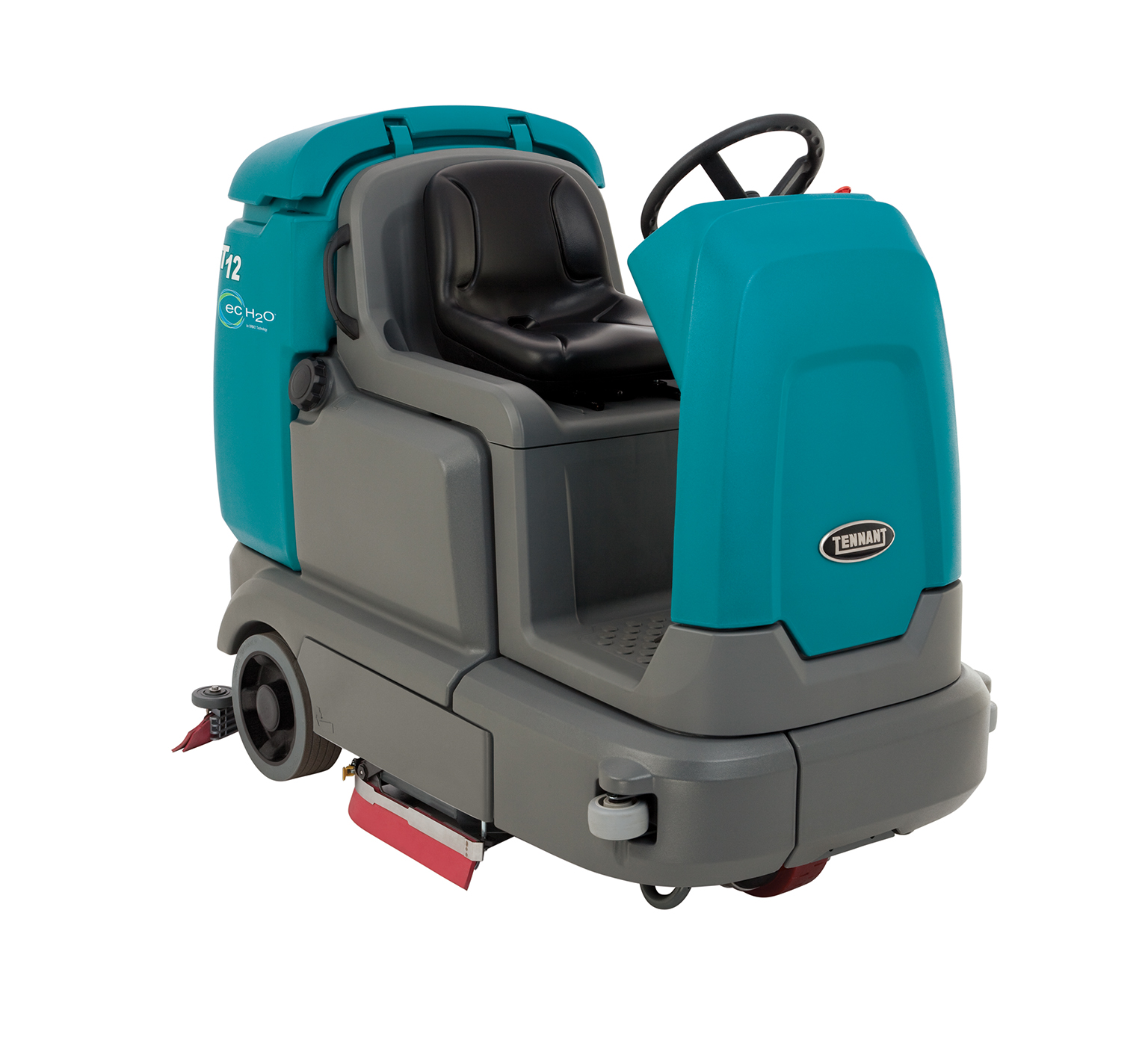 T12 Compact Battery Ride-On Floor Scrubber alt 1
