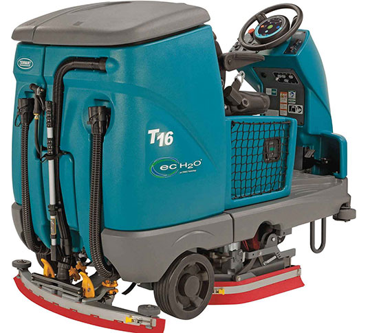 T16 Battery Ride-On Floor Scrubber alt 19