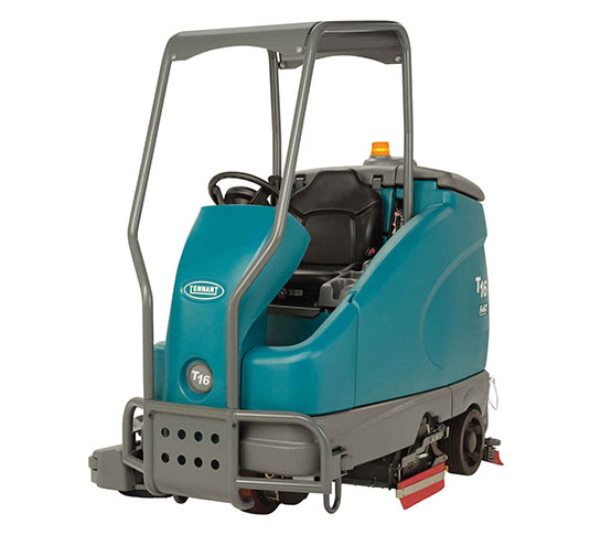 T16 Battery Ride-On Floor Scrubber alt 22