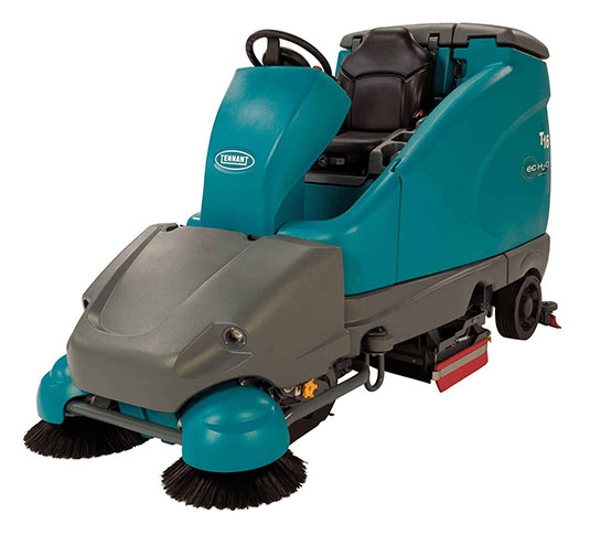 T16 Battery Ride-On Floor Scrubber alt 21