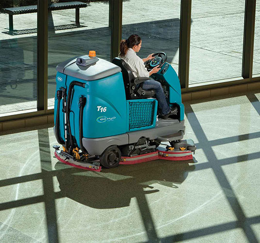 T16 Battery Ride-On Floor Scrubber alt 25