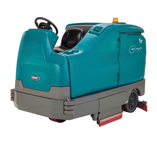 T17 Battery-Powered Ride-On Floor Scrubber alt 7