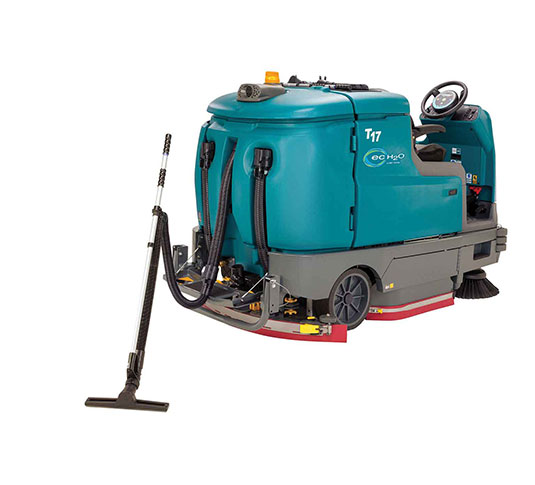 T17 Battery-Powered Ride-On Floor Scrubber alt 21