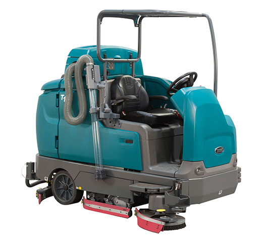T17 Battery-Powered Ride-On Floor Scrubber alt 4