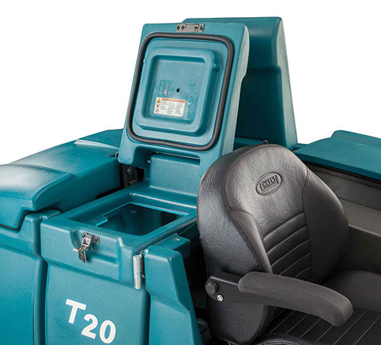 T20 Industrial Ride-On Floor Scrubber alt 6