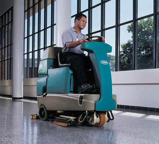 T7 Micro Ride-On Floor Scrubber alt 3