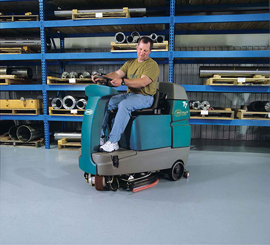 T7 Micro Ride-On Floor Scrubber alt 10