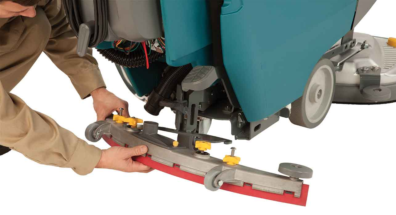 Tennant equipment maintenance yellow touch points