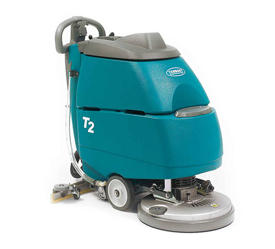Tennant T2 Battery-Powered Walk-Behind Scrubber
