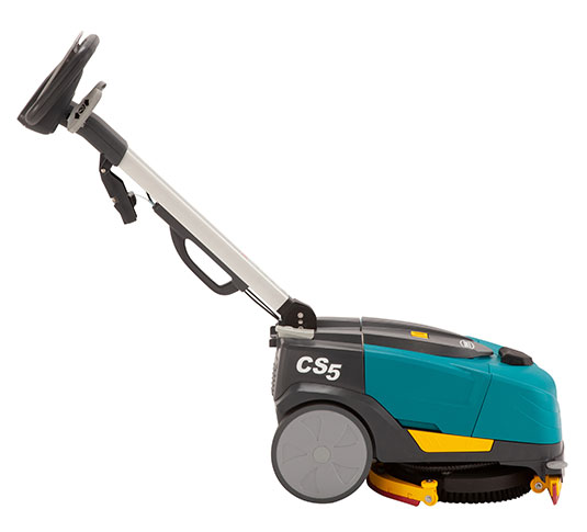CS5 Walk-Behind Micro-Scrubber Right Side Handle Angled
