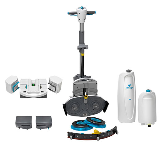i-mop XL with accessories