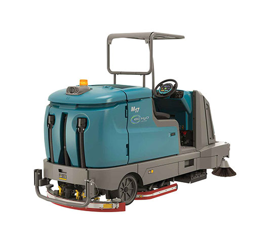 M17 Battery-Powered Ride-On Sweeper-Scrubber alt 17