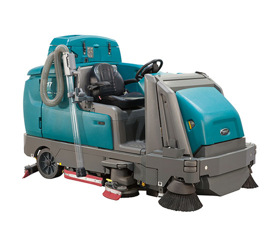 M17 Battery-Powered Ride-On Sweeper-Scrubber alt 3