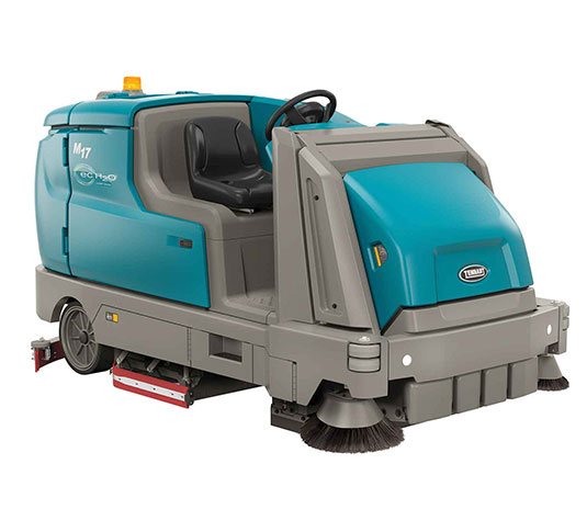 M17 Battery-Powered Ride-On Sweeper-Scrubber alt 1