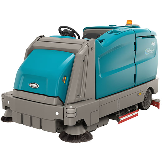 M17 Battery-Powered Ride-On Sweeper-Scrubber alt 8