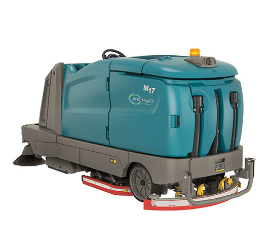 M17 Battery-Powered Ride-On Sweeper-Scrubber alt 5