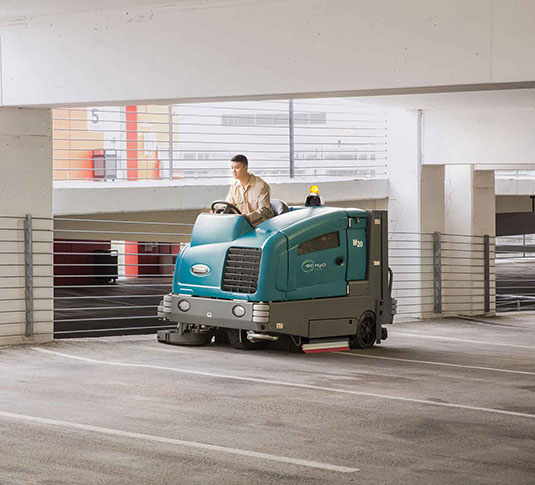 M20 Ride-On Sweeper-Scrubber alt 13
