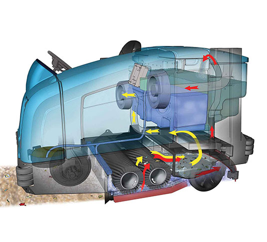 M30 Large Integrated Rider Sweeper-Scrubber alt 17