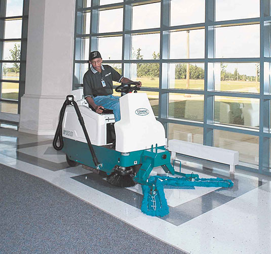 6100 Sub-Compact Battery Ride-On Sweeper alt 2