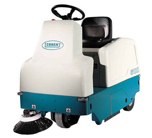 6100 Sub-Compact Battery Ride-On Sweeper alt 1