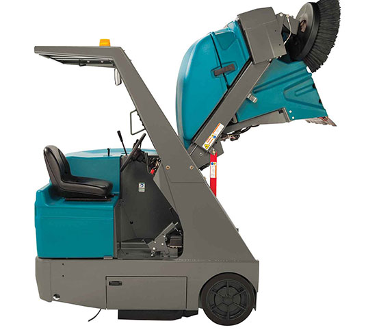 S20 Compact Ride-On Sweeper alt 14