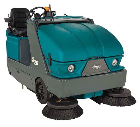 S20 Compact Ride-On Sweeper alt 1