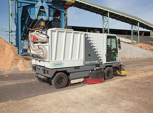 Sentinel Outdoor Ride-On Sweeper alt 2
