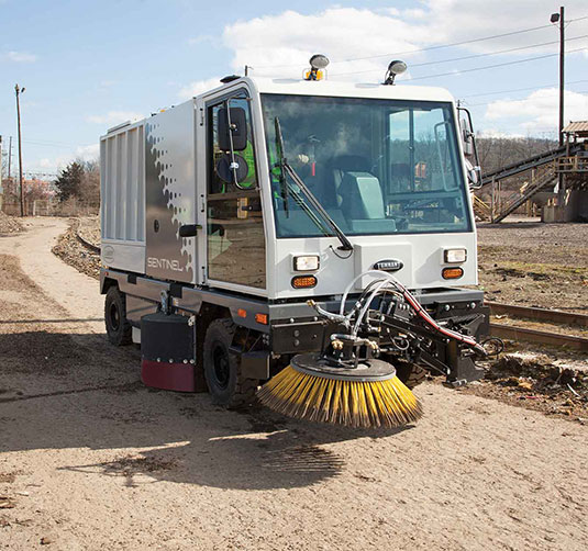 Sentinel Outdoor Ride-On Sweeper alt 4