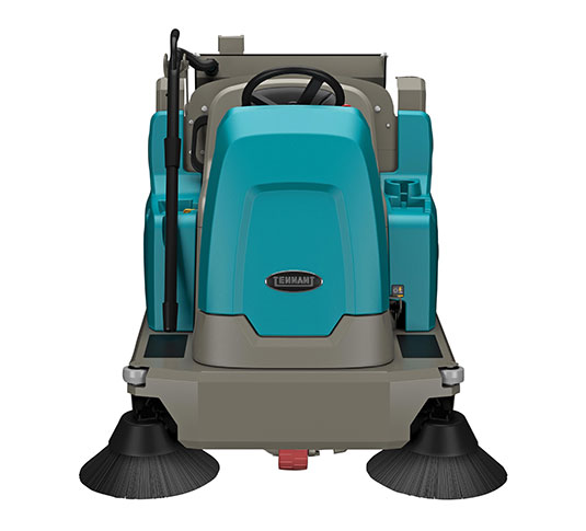 S16 Battery-Powered Compact Ride-On Sweeper alt 9