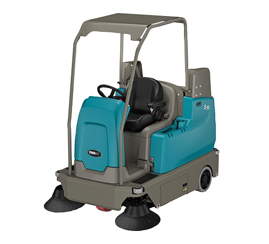 S16 Battery-Powered Compact Ride-On Sweeper alt 13