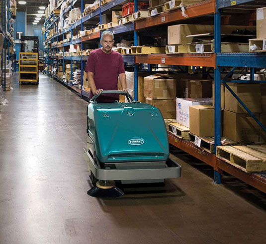 S10 Industrial Strength Walk-Behind Sweeper alt 5