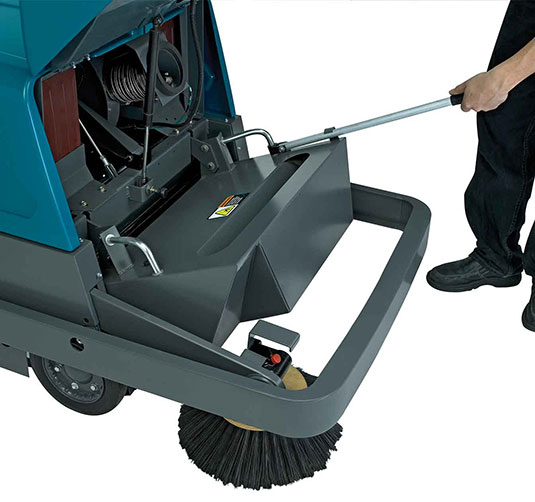S10 Industrial Strength Walk-Behind Sweeper alt 2
