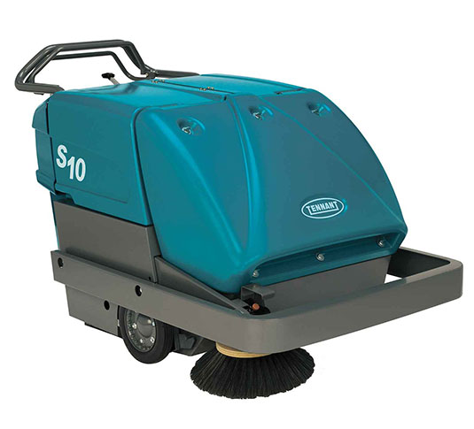 S10 Industrial Strength Walk-Behind Sweeper alt 1