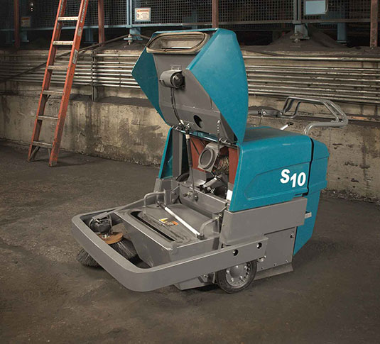 S10 Industrial Strength Walk-Behind Sweeper alt 3