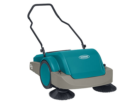 Tennant sweeper machine