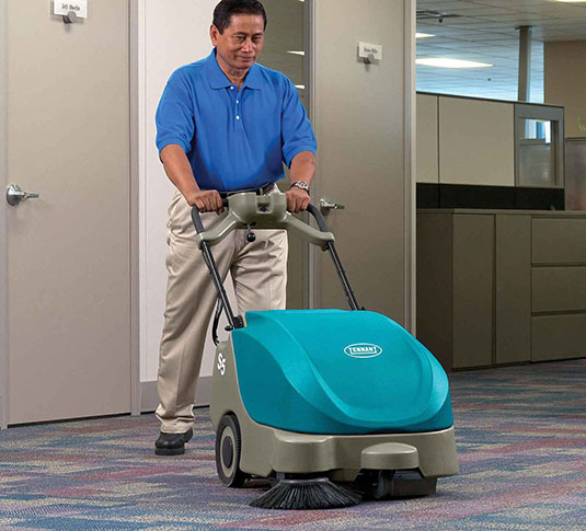 S5 Compact Battery-Powered Walk-Behind Sweeper alt 10