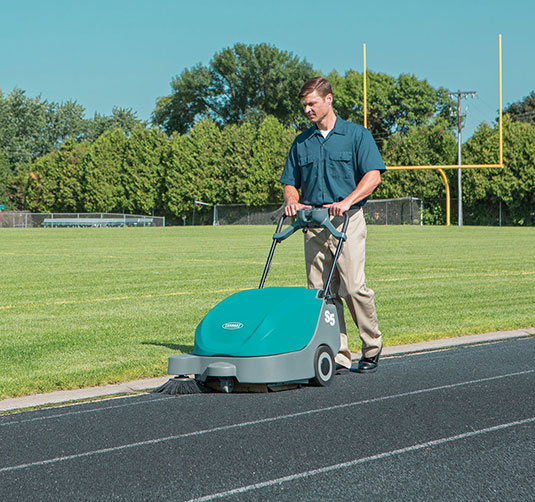 S5 Compact Battery-Powered Walk-Behind Sweeper alt 2