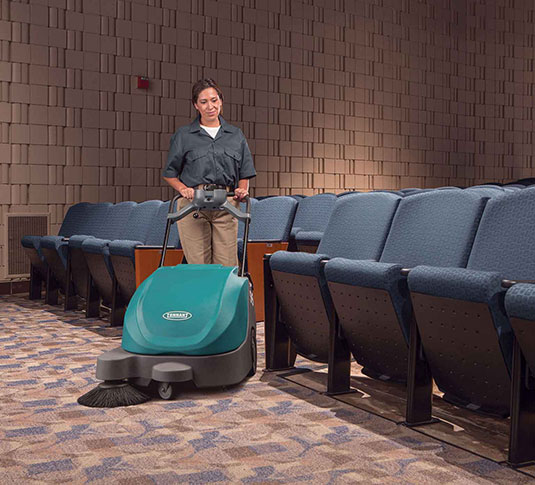 S5 Compact Battery-Powered Walk-Behind Sweeper alt 7
