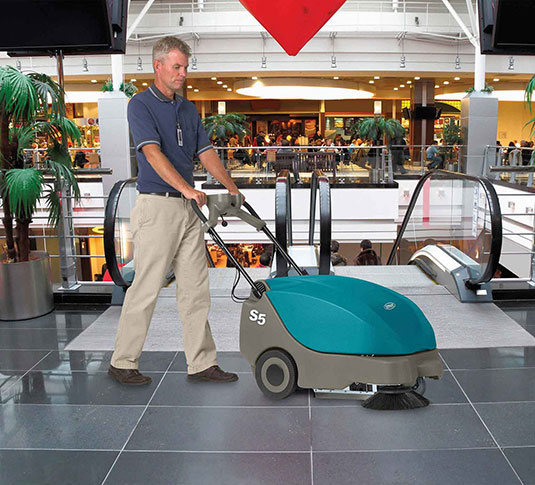 S5 Compact Battery-Powered Walk-Behind Sweeper alt 16
