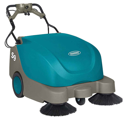 Reduce your cost to clean with the S9 Walk-Behind Sweeper