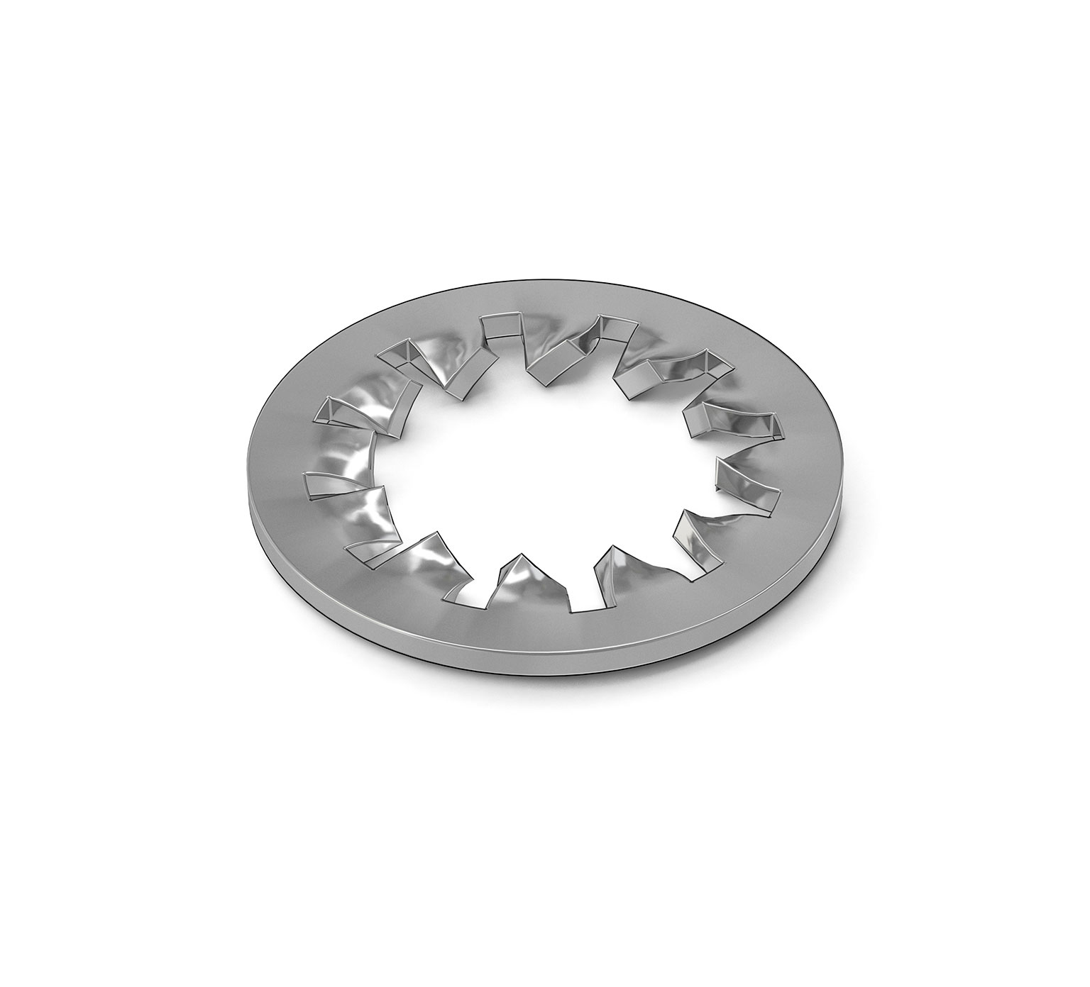 02938 Stainless Steel Lock Washer - 0.17 ID x 0.33 OD x 0.02 in alt 1