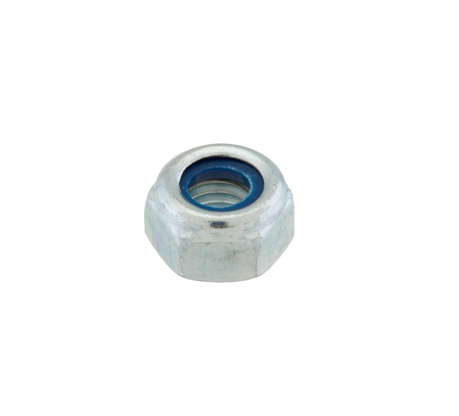 08709 Steel Hex Lock Nut - M8 Thread x 0.276 in alt 1