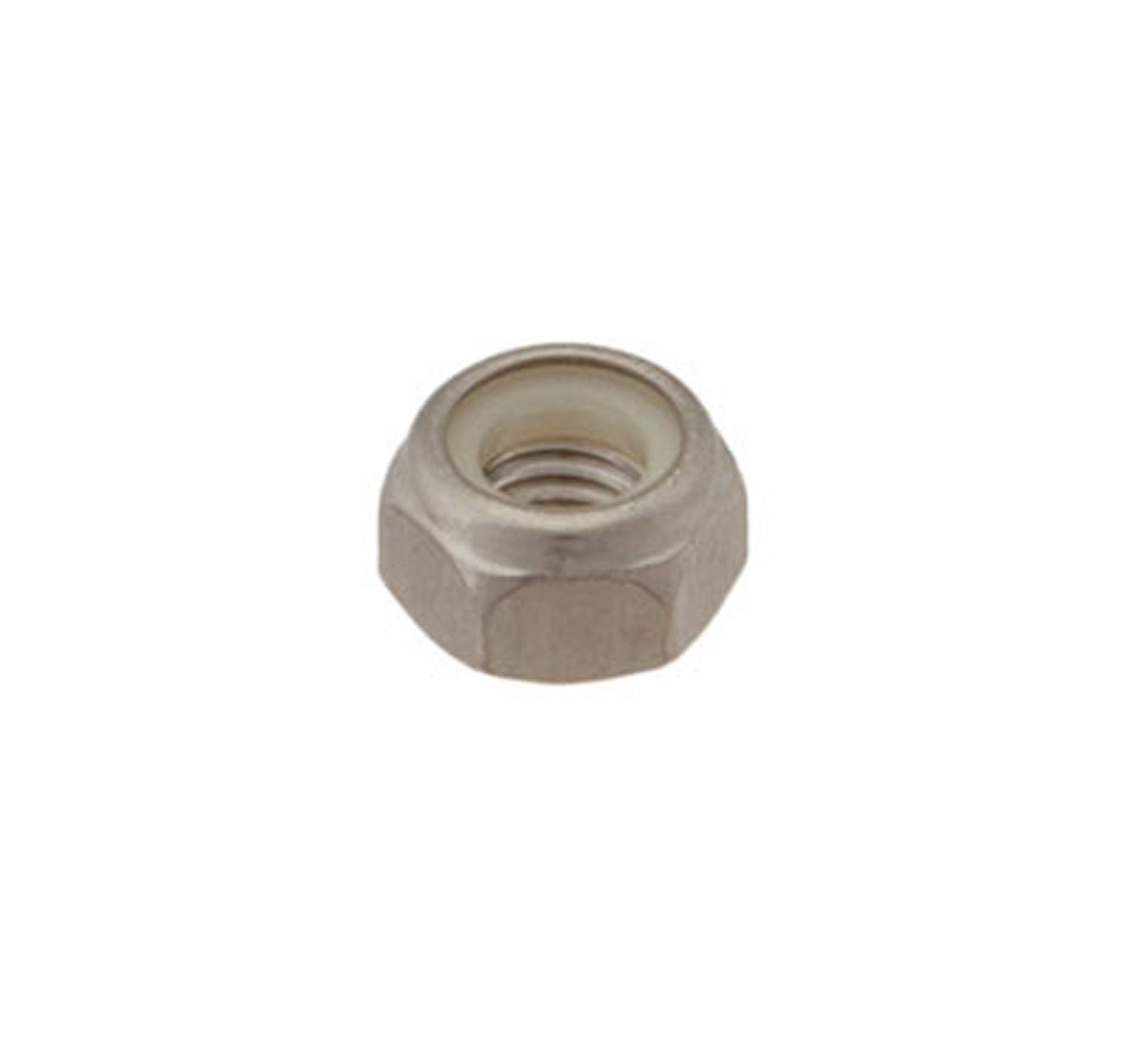 08713 Stainless Steel Hex Lock Nut - M8 Thread x 0.315 in alt 1