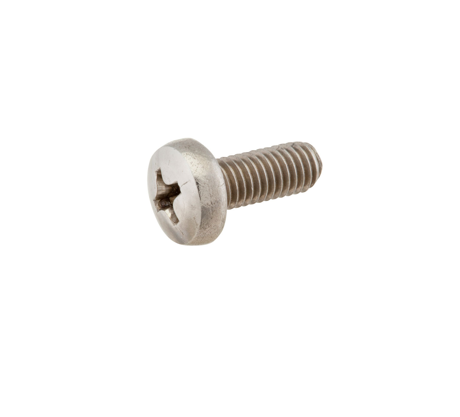 09200 Stainless Steel Phillips Pan Screw - M5 Thread x 0.5 in alt 1