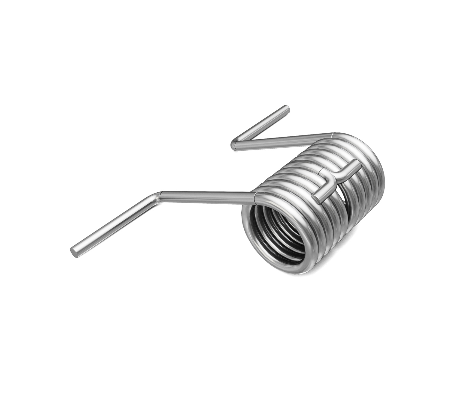 1011344 Stainless Steel Spring - 0.577 ID x 1.813 in alt 1