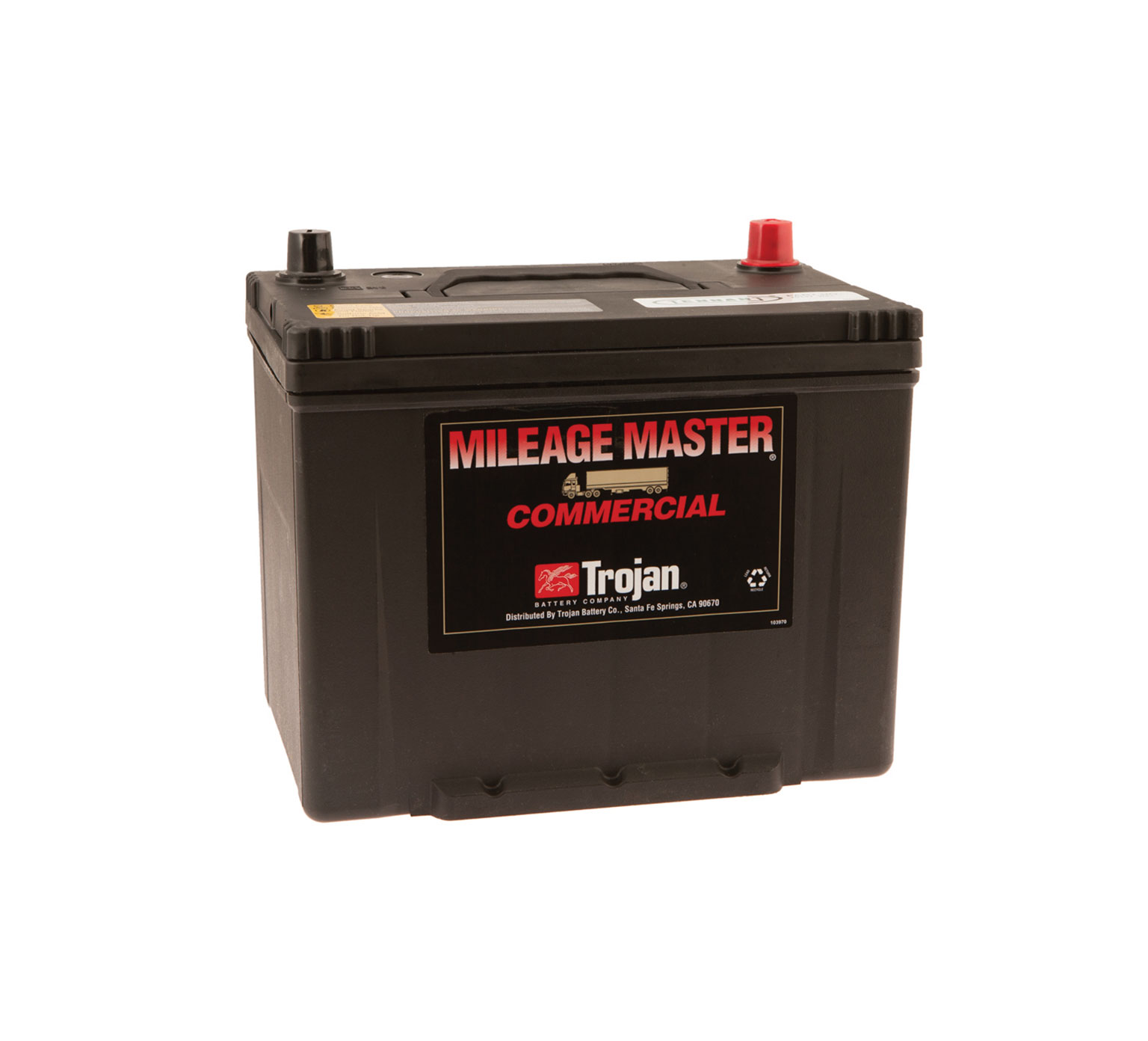 10137 12 Volt Wet Trojan Battery alt 1
